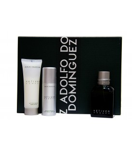 ADOLFO DOMÍNGUEZ - VETIVER EDT 120 ML. + DESODORANTE 50 ML. + AFTER SHAVE 75 ML.