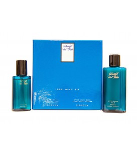 DAVIDOFF - COOL WATER EDT 40 ML. + AFTER SHAVE 75 ML.