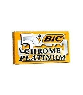 CHROME PLATINUM BLADES BIC