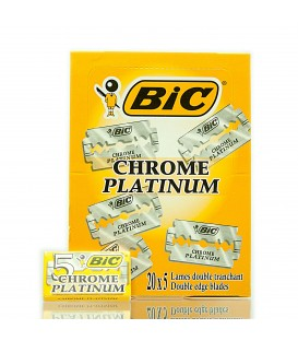 BOX - CHROME PLATINUM BLADES BIC
