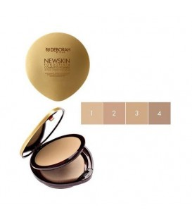 NEWSKIN COMPACT FOUNDATION WITH MINERAL OLIGO-ELEMENTS DEBORAH
