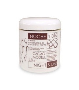 ANTI-CELLULITIS CREAM WIHT CHOCOLATE CACAO MODELL NIGHT&DAY