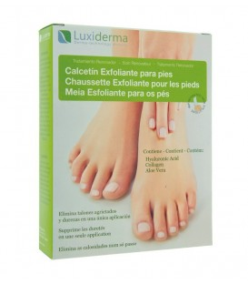 CALCETÍN EXFOLIANTE LUXIDERMA