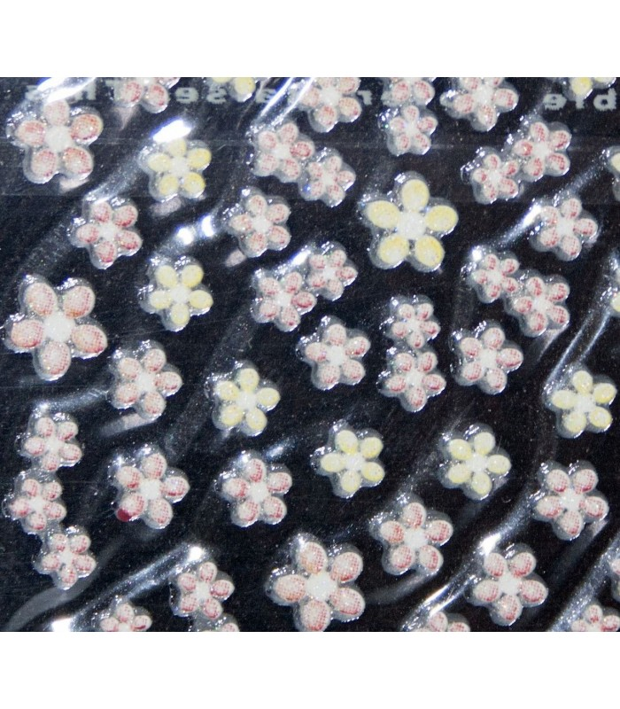 3d Nail Art Stickers Cosmetic Hair
