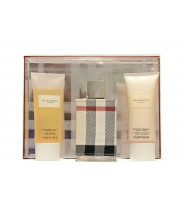 BURBERRY LONDON 100vp + GEL 100 ml. + BODY MILK 100 ml.