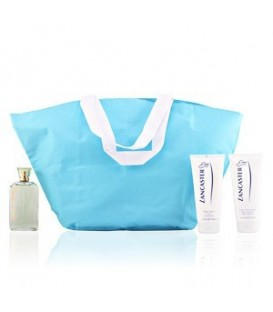 EAU DE LANCASTER 125 vp + BODY LOTION 200 ml.+ CREMA MANOS 200 ml.+ BOLSO