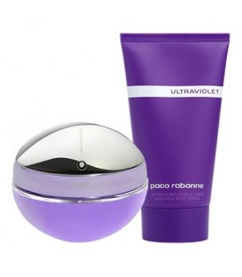 PACO RABANNE - ULTRAVIOLET EDP 50 vp + BODY LOTION 100 ml.