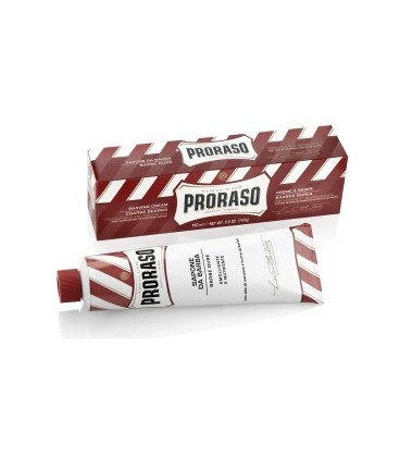PRORASO SHAVING CREAM WITH SANDALWOOD OIL