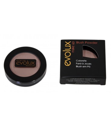 COLORETE COMPACTO EVOLUX BLUSH POWDER 4g 3