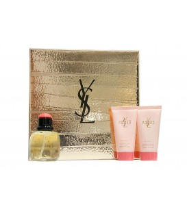 YVES SAINT LAURENT - PARIS EDT 75 VP + BODY LOTION 50 ML. + GEL 50 ML.