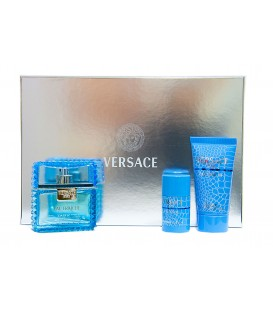 VERSACE EDT 50 VP + GEL 50 ML. + DEODORANT STICK 25 ML.