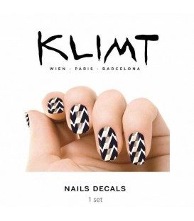 TRANSFER UÑAS KLIMT HEAVY ROCK