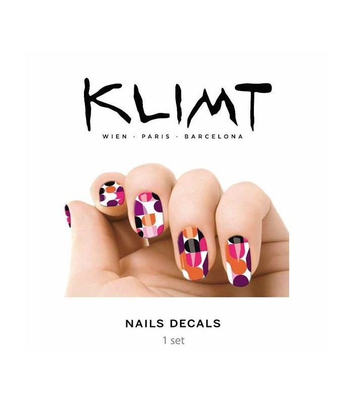 100 Printed Nail Vernis Klimt Pop Art Cosmetic Hair