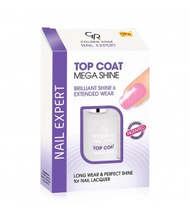 MEGA SHINE TOP COAT GOLDEN ROSE