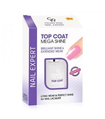 MEGA SHINE TOP COAT GOLDEN ROSE