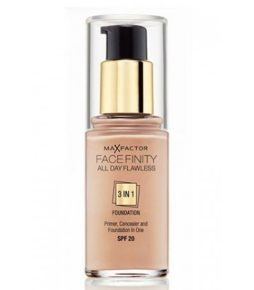 MAX FACTOR FACE FINITY 3 IN 1