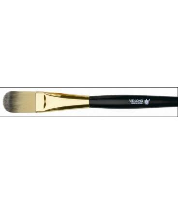 Brush makeup fluid