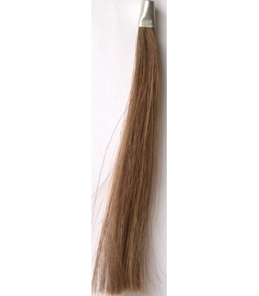WEFTED NATURAL HAIR 18""