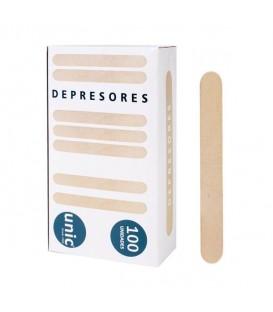 DEPRESORES CAJA 100 UNIDADES