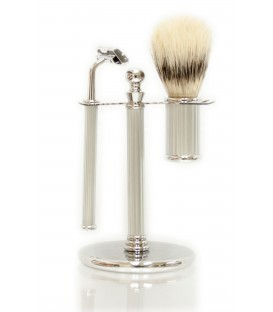 SHAVING SET BRUSH + RAZOR